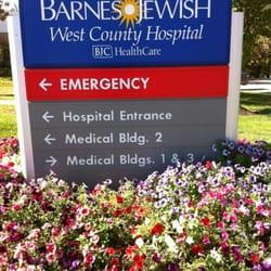 Barnes West County Emergency Room
