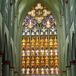 Das größte Kirchenfenster nördlich der…