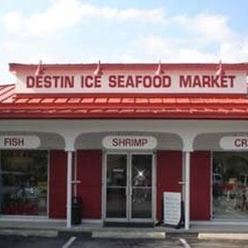 Destin ice seafood market seafood markets destin fl for Destin fish market