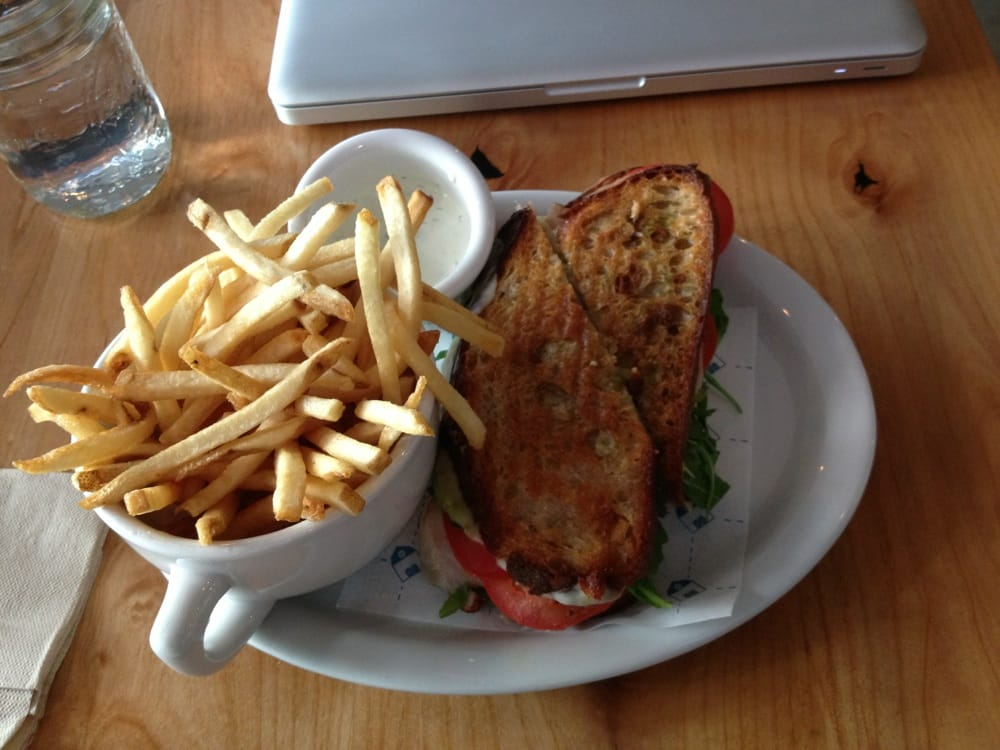Provo grilled cheese and  Gourmet Grilled Cheese And Fries
