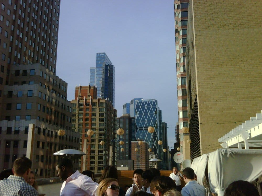 A view from the 16th floor of 790 8th Ave (bet 48/49), Highbar. | Yelp