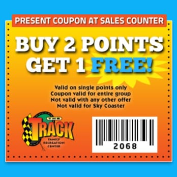 The track destin discount coupons