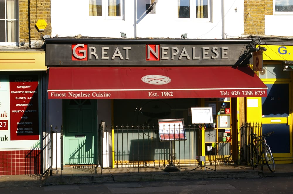 Great nepalese restaurant indian restaurants euston