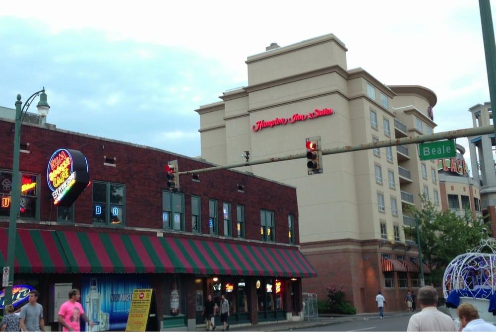 Hotel Near Beale Street In Memphis