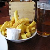 Chips & Garlic Mayo and my Beer
