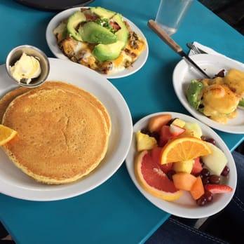 - San Francisco, CA, United States. Lemon ricotta pancakes, potatoes ...