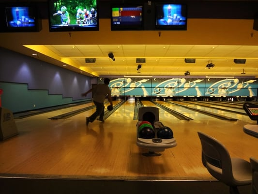 Presidio Bowl - hoping for a strike - San Francisco, CA, Vereinigte Staaten