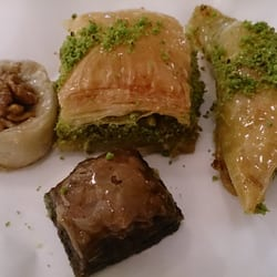 My selection of baklava.