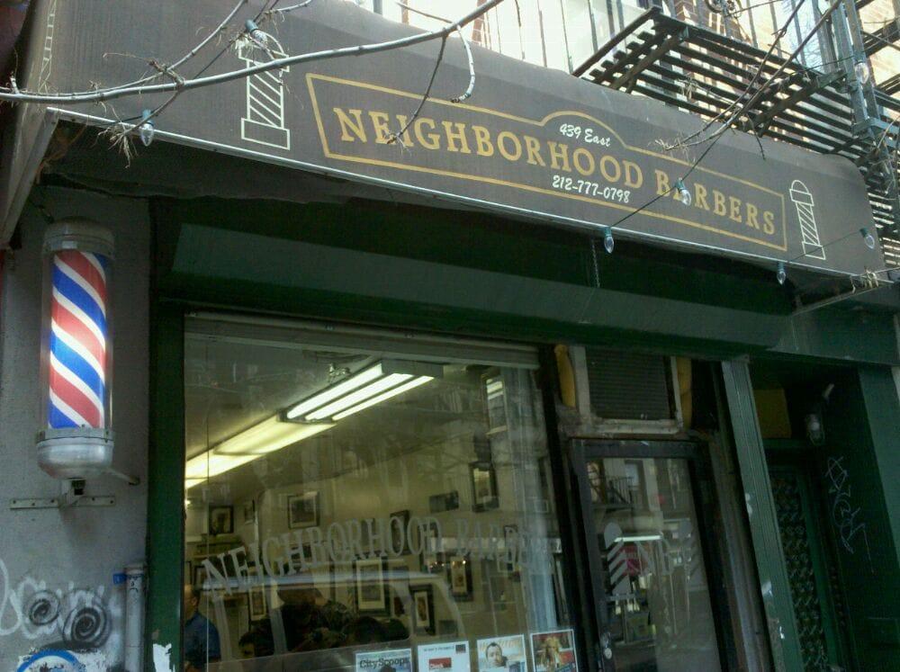 Neighborhood Barber - Barbers - East Village - New York, NY - Reviews ...