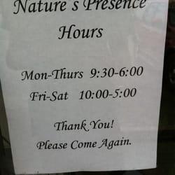 Nature's Presence logo