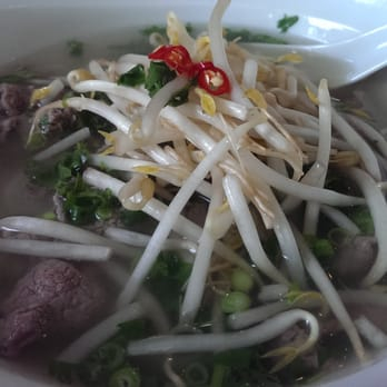 Pho... just remember to ask for the Hosien Sauce on the side ;)