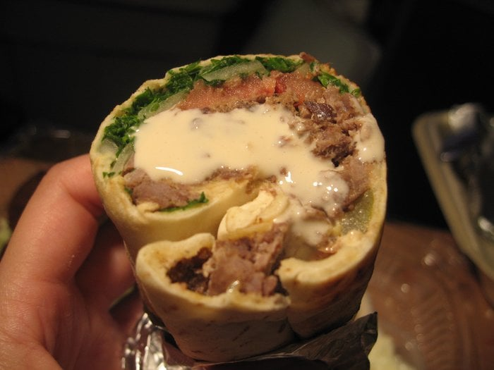 Beef Shawarma Pita Beef Shawarma Pita w/
