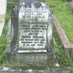 Susannah Nutkins grave, Brompton