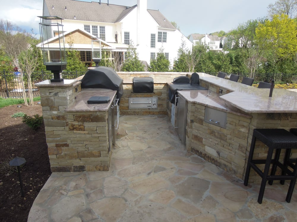 ... stone, granite counter tops, gas torches and even a built-in blender