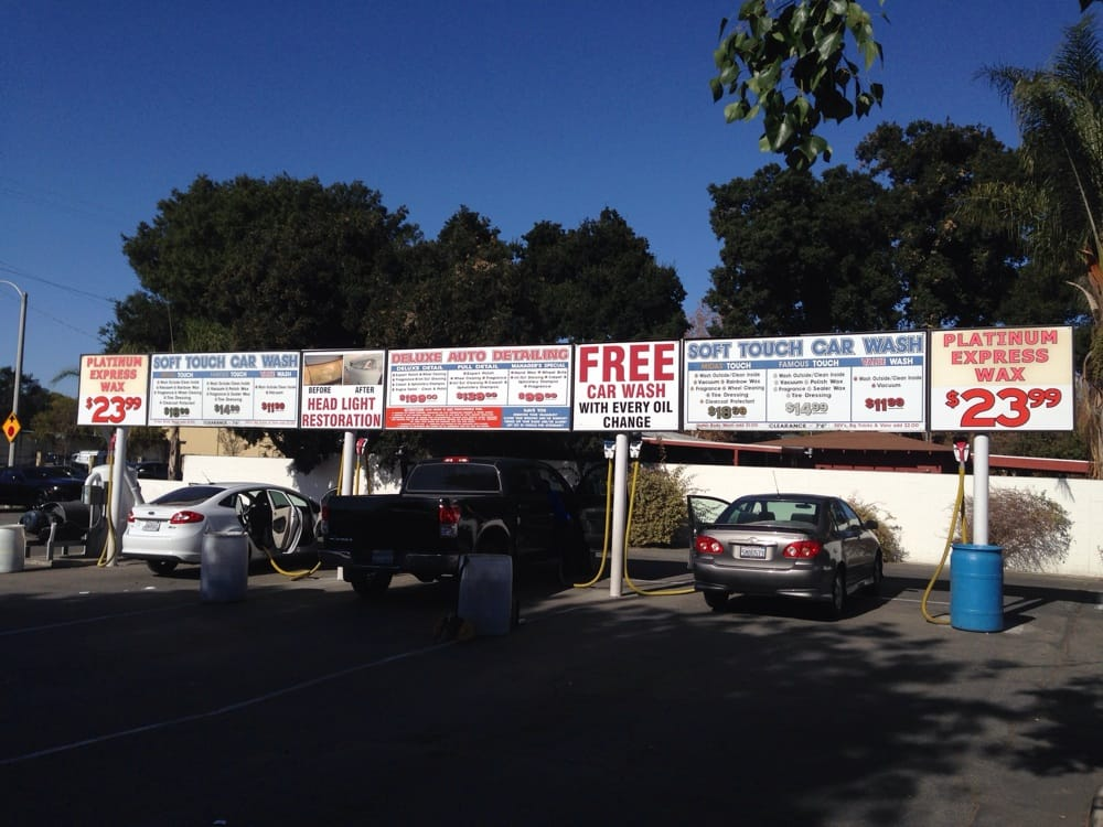 Soft Touch Car Wash In Chino