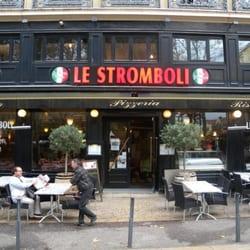 Le Stromboli - Saint-Étienne, Loire, France. Pizza le Stromboli
