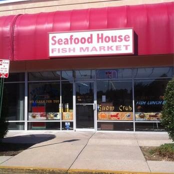 Seafood house seafood restaurants richmond va united for Fish market richmond va