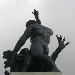 Am Herkules-Brunnen, Augsburg, Bayern