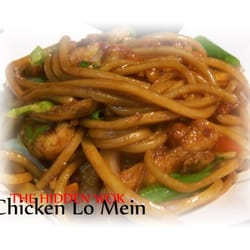 The Hidden Wok - Tucson, AZ, États-Unis. Chicken Lo Mein