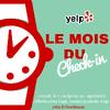 Photo de Yelp - Le Mois du Check-In !