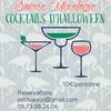 """Photo de Soirée Mixologie """"Cocktails d'Halloween"""" - Le Petit Vasco"""