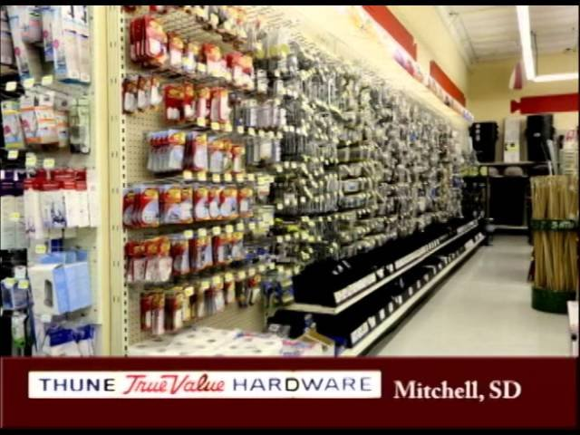 Thune True Value Hardware & Home Appliance Center: 1400 N Main St, Mitchell, SD