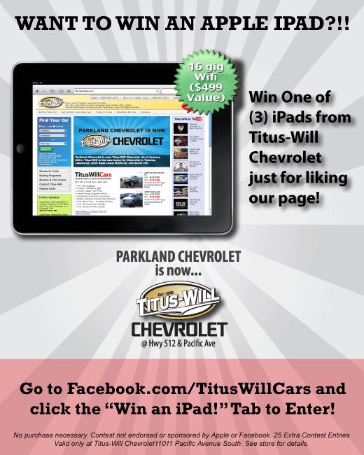 Titus Will Chevrolet Parkland Titus Will Chevrolet Tacoma