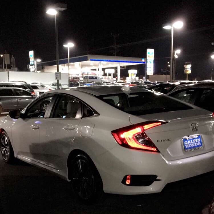 Galpin Honda In Mission Hills U003eu003e 2016 Honda Civic EX L.   Yelp