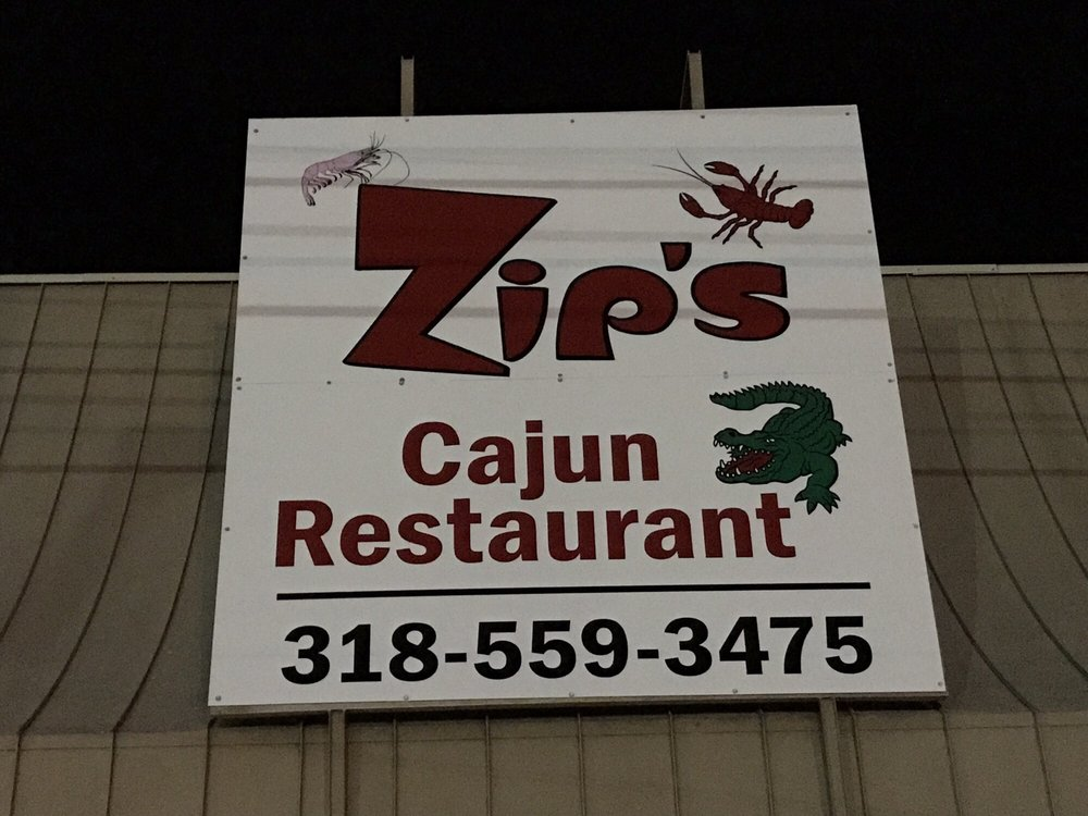 Zip's Cajun Restaurant: 218 N Hood St, Lake Providence, LA