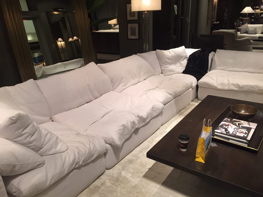 Photo Of Restoration Hardware Costa Mesa Ca United States Most Comfy Couch