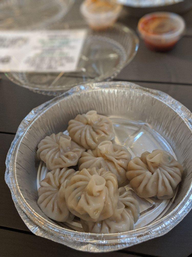 Food from Momo Palace