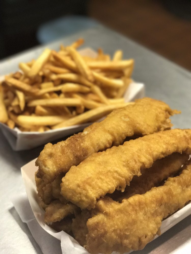 London's Best Fish & Chips: 151 W McKnight Way, Grass Valley, CA