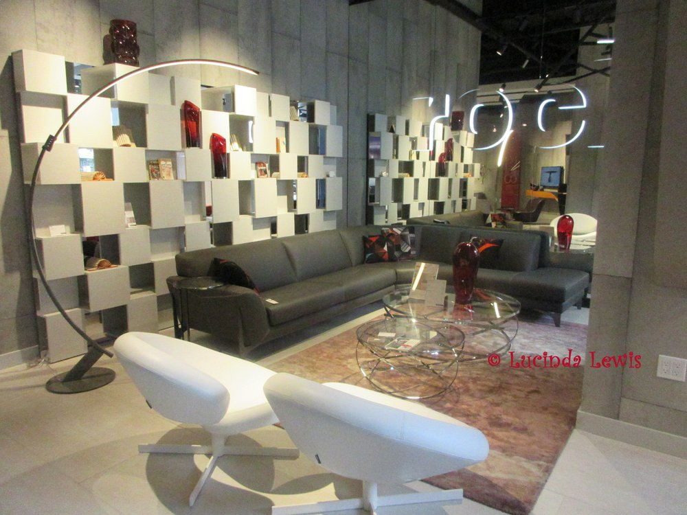 Photo of Roche Bobois - New York, NY, United States. The wallpaper is