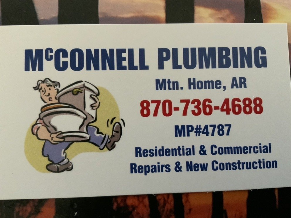 McConnell Plumbing: Mountain Home, AR
