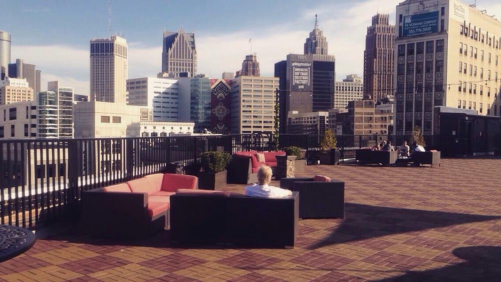 coors light sky deck - lounges - 1528 broadway, downtown detroit