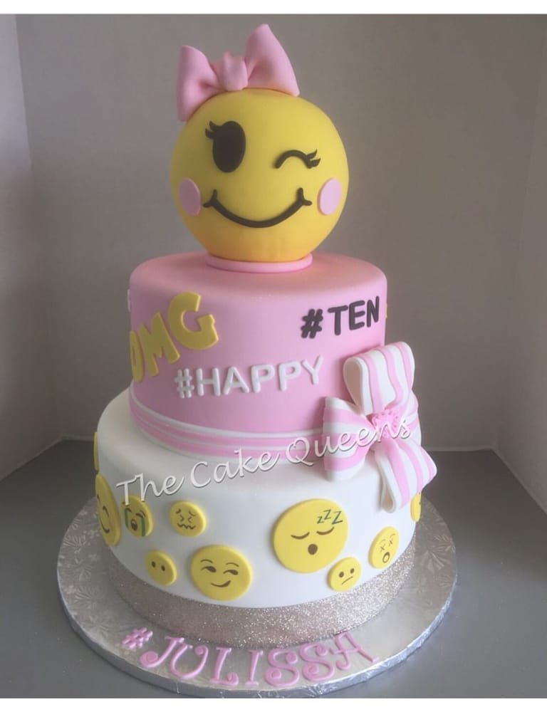 Emoji Birthday Cake Yelp