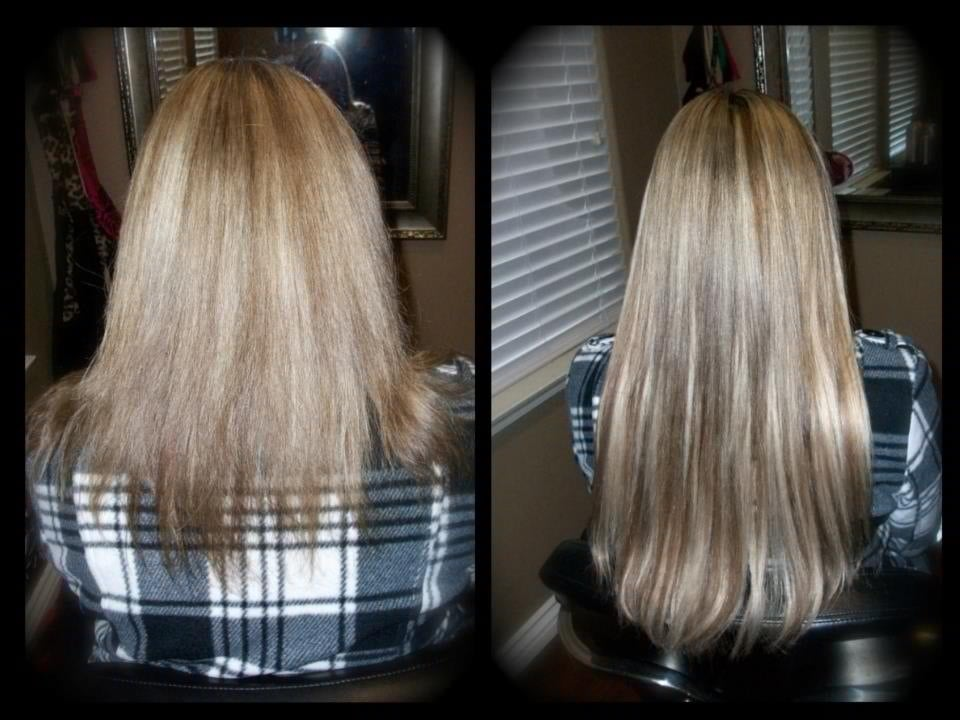 Micro ring beaded hair extensions before and after temecula hair add photos photo of couture hair by dallas temecula ca united states micro ring pmusecretfo Images