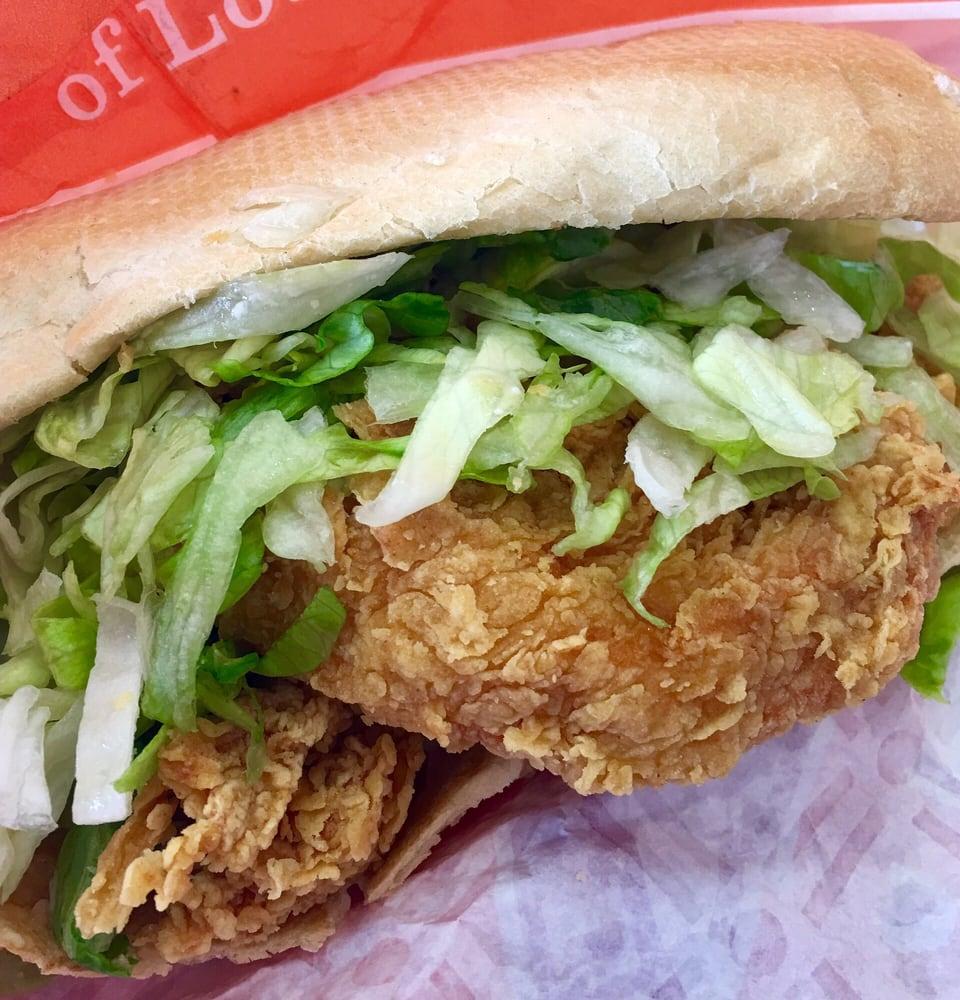Popeyes Fried Chicken Po Boy Recipe - BlogChef