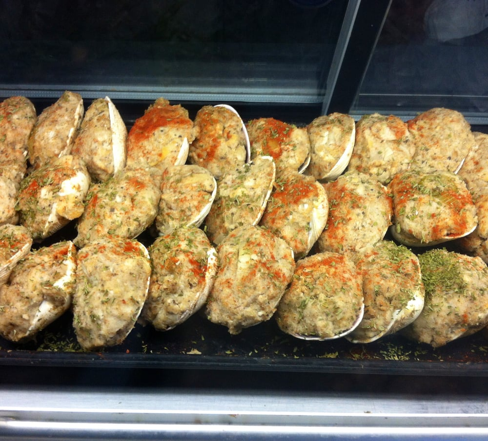 Swansons 39 s famous stuffed clams yelp for Fish market ct