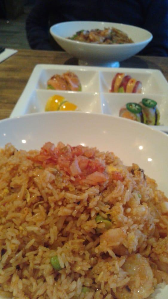 of Roots - Princeton, NJ, United States. Kimchi fried rice with shrimp ...