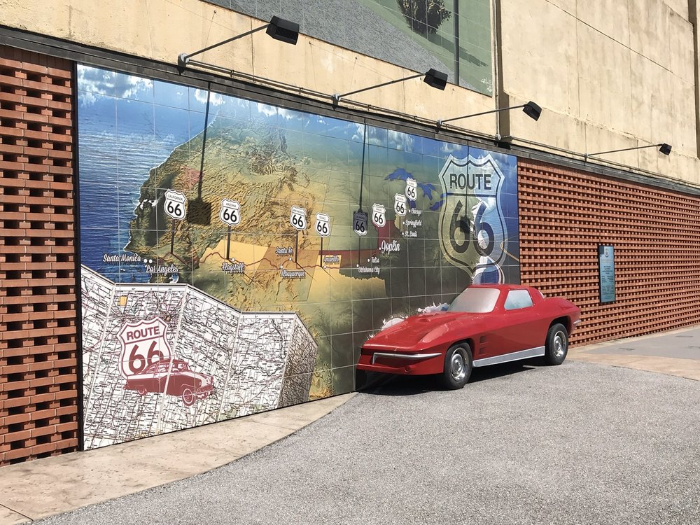 Route 66 Mural Park: 619 MO-43, Joplin, MO