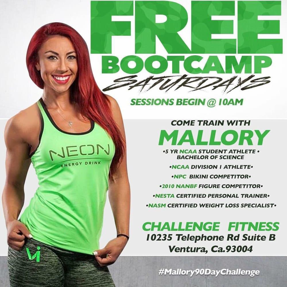 Challenge Fitness: 10235 Telephone Rd, Ventura, CA