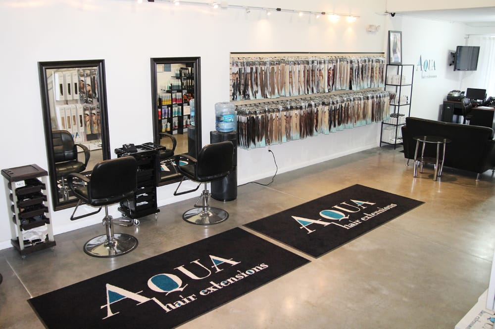 We offer hair extensions certification class come in and purchase photo of aqua hair extensions dania beach fl united states we offer pmusecretfo Gallery