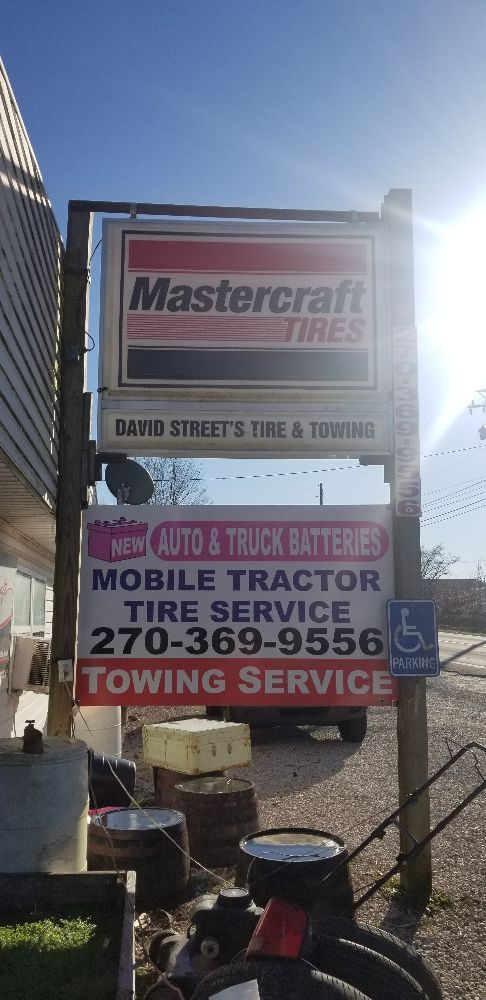 David Street's Tire & Towing: 10958 S Dixie Hwy, Sonora, KY