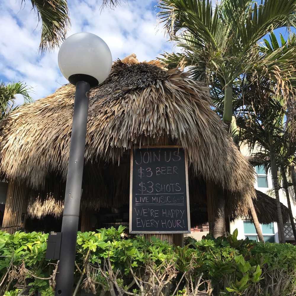 Caribbean Resort Tiki Bar