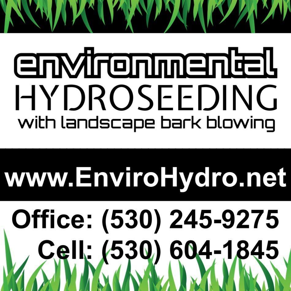 Environmental Hydroseeding: Shasta, CA