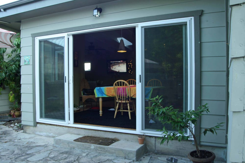 4 panel sliding glass door open yelp for 12 foot sliding patio doors