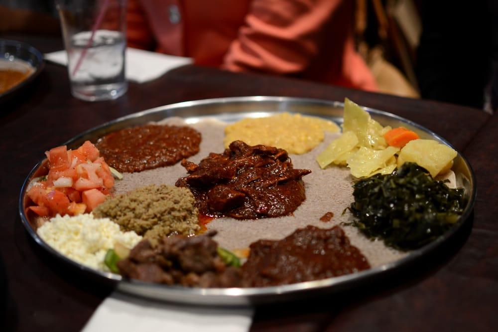 Dukem Ethiopian Restaurant U Street Corridor