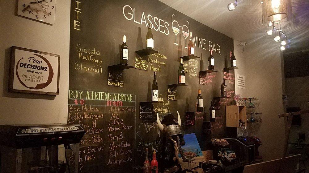 Social Spots from Glasses Wine Bar