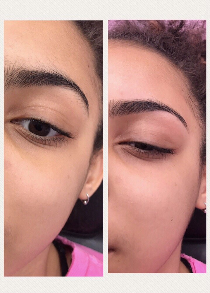 Eyebrow Threading Before And After So Quick And Long Lasting Yelp